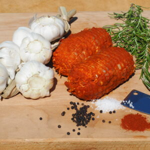 Kiprollade mini heerlijk gekruid en klaar voor de oven.