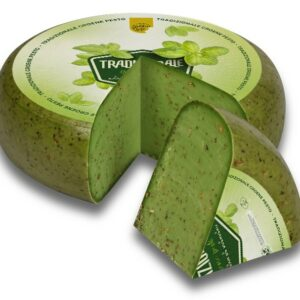 Groene Pestokaas met pijnboompitten